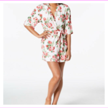 Flora Nikrooz Women's Hits Above Knee Printed Cleo Knit Wrap Robe  - $11.13