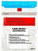 1000 Specimen Bags w/ Removable Biohazard Symbol and Absorbent Pad - $154.41+