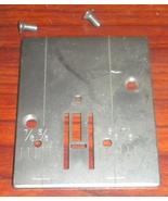 Sears Kenmore 385.12714 Zig Zag Throat Plate #735011 w/Set Screws - $12.50