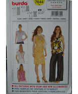 Pattern 7644 Dress or Tops w/variations sz 8-18 - $6.99