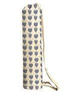 Vietsbay Sport Blue Floral Pattern-2 Printed Canvas Yoga Mat Bags Carriers - £16.29 GBP