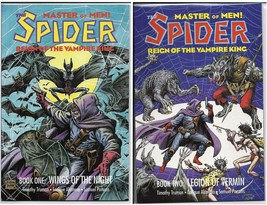 Eclipse The Spider Reign Of The Vampire King GN Lot Books One & Two - $4.95