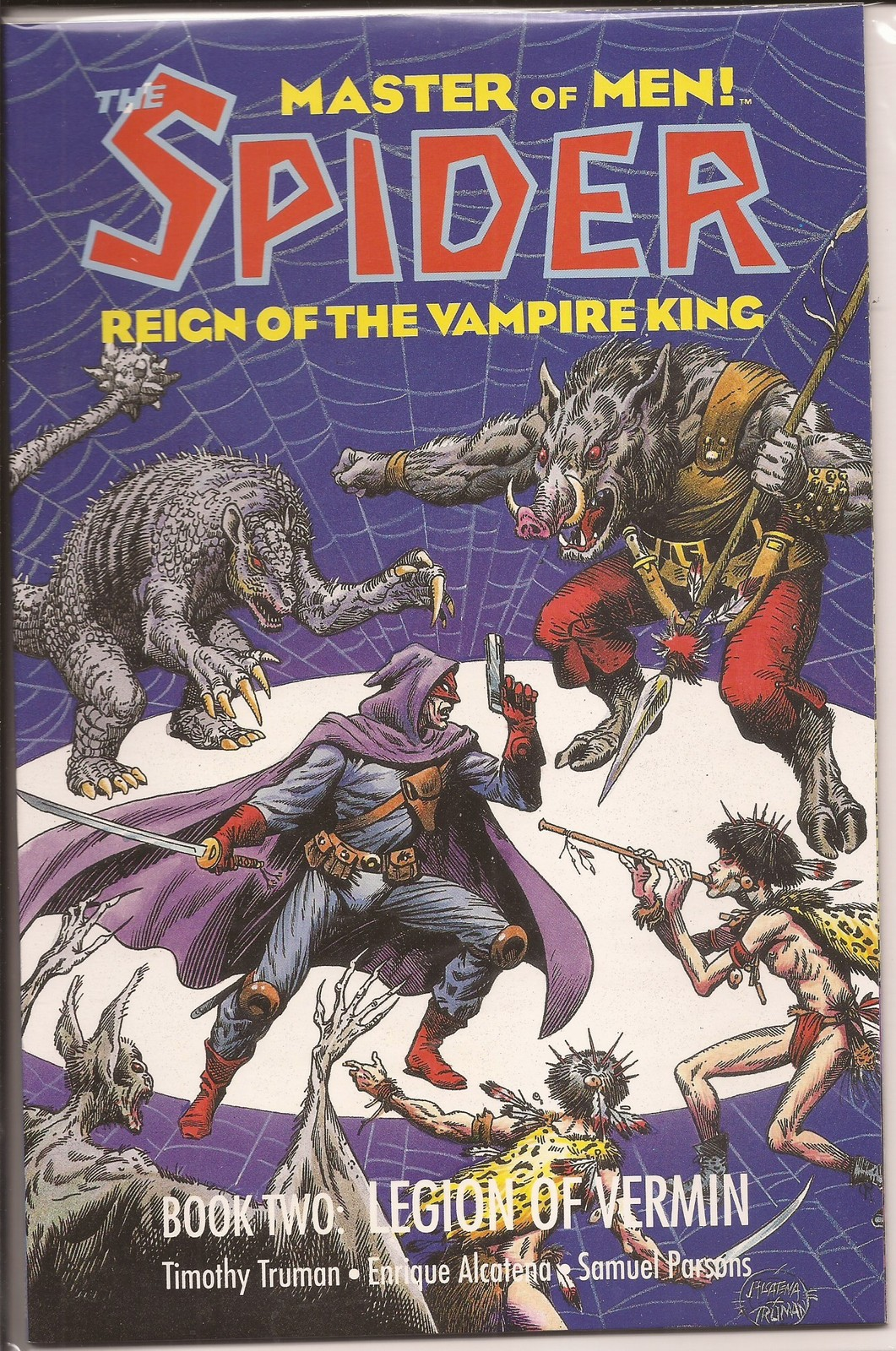 Eclipse The Spider Reign Of The Vampire King GN Lot Books One & Two