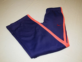 Nike Therma Fit traing girls S 546097 548 purple sweat pants active NWT^^ - $42.56