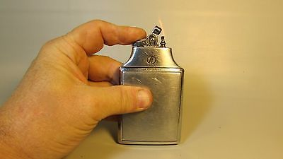 Vintage RONSON MASTERCASE Lighter Cigarette Case Compact - REPAIR