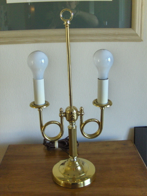 Brass Double Bulb Table Lamp Student Light And 50 Similar Items