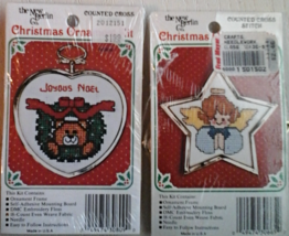 The New Berlin Company Christmas Ornaments Counted Cross Stitch Kits  Se... - $7.99