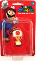 Super Mario Keychain 2 inch Mini Figure - Toad Brand NEW! - $28.99