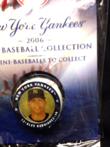 2006 NY POST NEW YORK YANKEES ALEX RODRIGUEZ COLLECTIBLE MINI-BASEBALL - $3.50