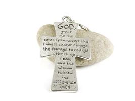 Serenity Prayer Key Chain Recovery Key Ring - $5.95