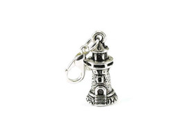 Lighthouse Clip On Charm Zipper Pull Purse Charm  - $2.95