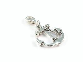 Anchor Clip On Charm Zipper Pull Purse Charm - $2.95