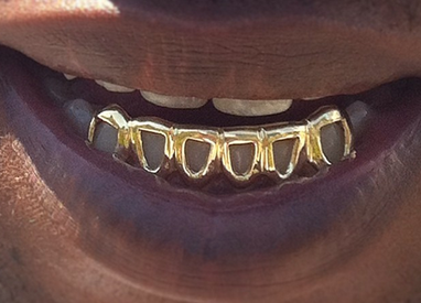 custom gold teeth grillz frame top or bottom and 39 similar items