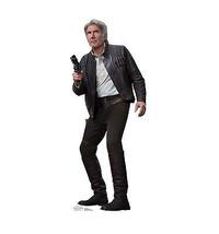 Han Solo Star Wars Force Awakens Cardboard Standup Standee Cutout Licensed 2192 - $39.95