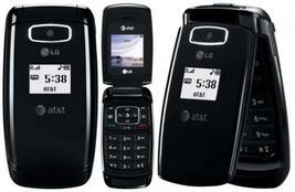 LG At&t H20 CE110 Black Flip Basic Camera Cellphone CE 110 GSM Cell Phone - $45.00