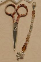Lanell Gingher Long Scissor Fob cross stitch needlework My Big Toe Design - $18.00
