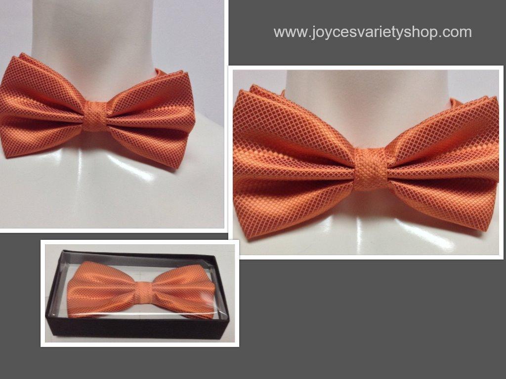Orange tie collage