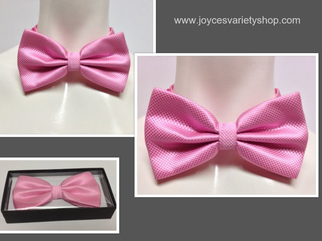 Pink tie collage