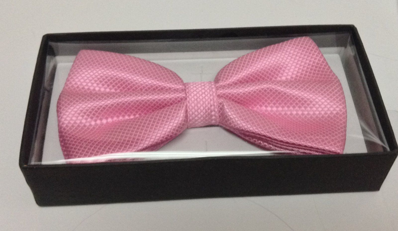 Adult Dressy Bow Tie Colorful Pink NWT Easy Adjustable
