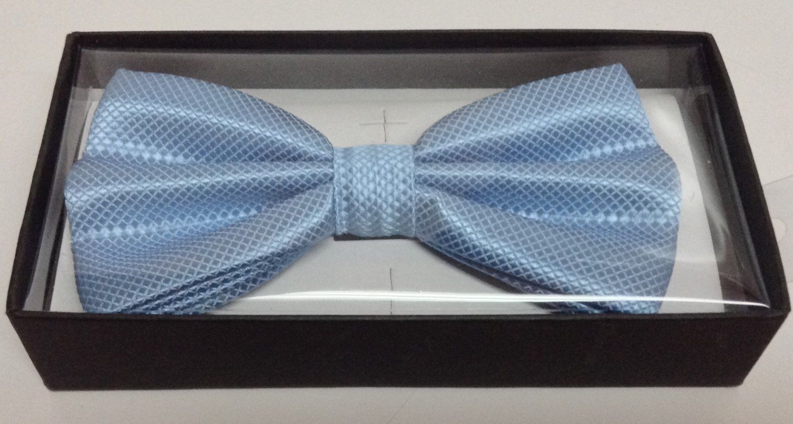 Adult Dressy Bow Tie Baby Blue NWT Easy Adjustable