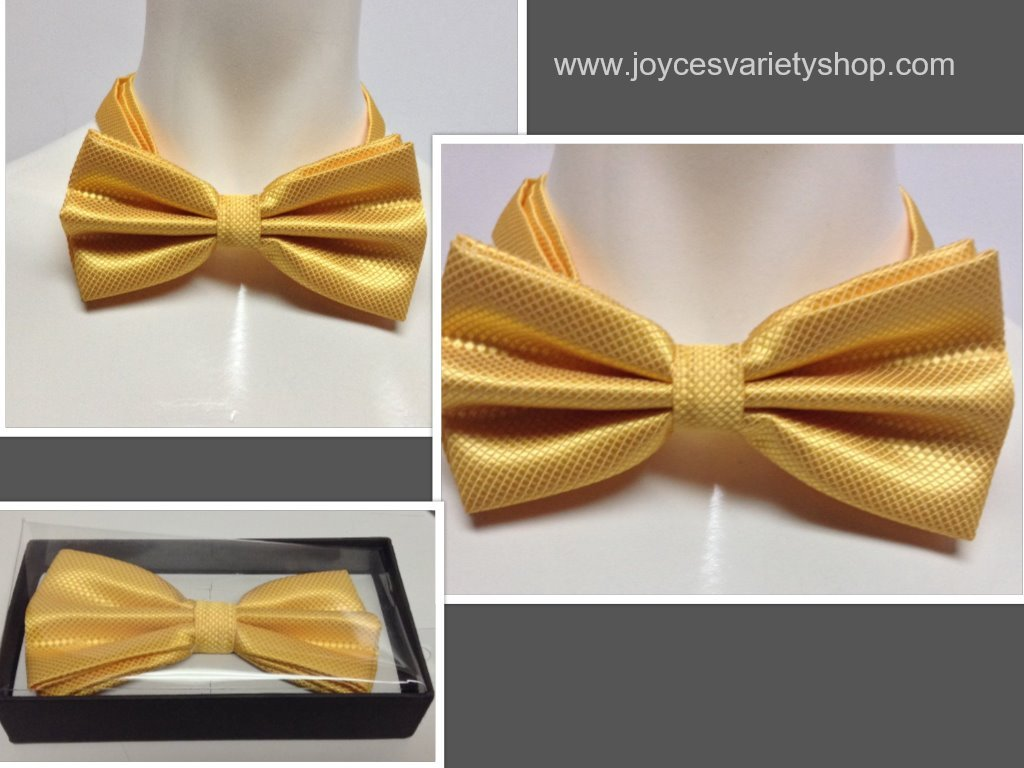 Yellow tie collage