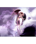 Violet Flame Healing Angels~Brings Healing of All Types Haunted by Blujay76 - $39.99
