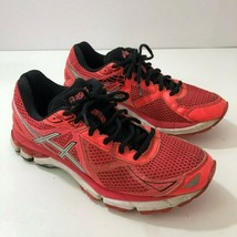 ASICS Gel IGS GT 2000 T550N Neon Pink Black Running Sneakers Womens US S... - $27.85