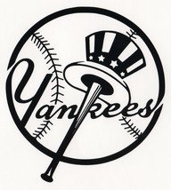 New York Yankees 2 Decals-LOGO ~ Vinyl Stickers  - $5.55