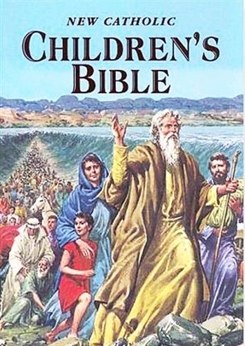 New catholic children s bible   children book
