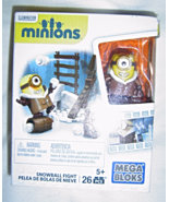 New Mega Bloks Minions Snowball Fight 26 Pieces - $9.99