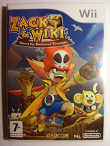 Zack and Wiki Quest for Barbaros Treasure PAL wii new store repack - $19.50