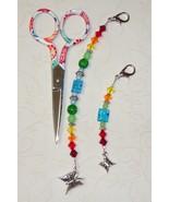 Julia Gingher 2013 Long Scissor Fob cross stitch needlework My Big Toe D... - $18.00