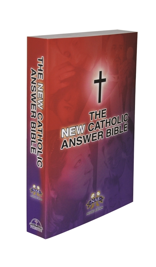 The new catholic answer bible  nab   revised edition   large print by fireside