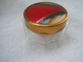 Art Deco Vanity / Make-up Jar - $10.99