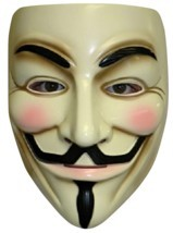 V For Vendetta - Mask - Adult - Guy Fawkes - Anonymous - Costume Accessory - $7.80 CAD