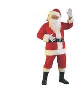 Christmas - Santa Claus Suit - Flannel - Size Standard - Adult St. Nick ... - $25.03