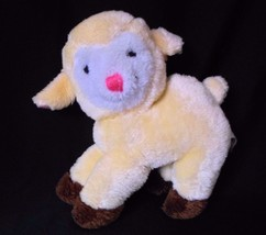 "Vintage Russ Berrie Yellow Lamb IVY Plush Stuffed Animal Toy 1977"" - $39.15"