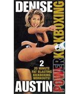 Denise Austin - Power Kickboxing [VHS] [VHS Tape] [1999] - $6.92