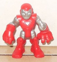 Marvel Comics Super Hero Squad Mini Action Figure Iron Man 2008 Hasbro - $9.50