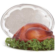 """Sterlingcraft ® Oval Serving Tray Party Platter 18"""" x 13 1/2"""" - £6.54 GBP"""