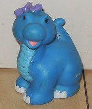 Fisher-Price Current Little People Blue Baby Girl Dinosaur Figure FPLP - $3.00