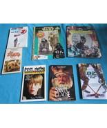 7 Movie Book Lot: Star Wars Batman Benji Home Alone Santa Clause Mighty ... - $19.81