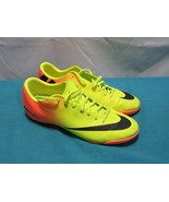 Nike Mercurial Victory IV  Shoes Yellow Orange US 11.5  Model 555614-708 - $24.76