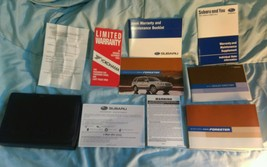 2006 SUBARU FORESTER COMPLETE OWNERS MANUAL BOOKS GUIDE CASE ALL MODELS - $30.84