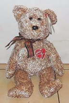 Ty 2002 Signature Bear Beanie Baby plush toy - $4.50