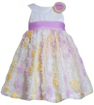 Purple Yellow Ivory Mini Die Cut Bonaz Mesh Overlay Dress PU2BA, Purple, Bonn...