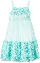 Bonnie Jean Girls 4-6x Mint Floral Bonaz Mesh Bubble Dress, 6 [Apparel] Bonni...