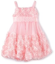 Bonnie Jean Girls 2-6X Bonaz Bubble Dress PK3NA, Pink [Apparel]