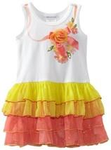 Bonnie Jean Girls 2-6X and Screen Print Tutu Dress (6, Multi)