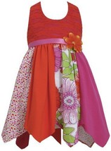 Fuchsia Lace to Colorblock Print Hanky Hem Knit Halter Dress FU2HA, Fuchsia, ...